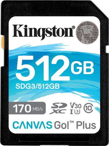 Kingston Canvas Go Plus 512GB Main Image