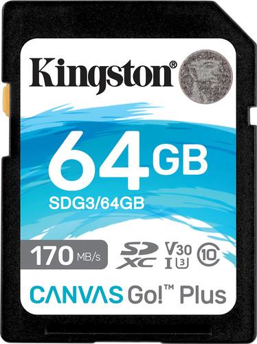 Kingston Canvas Go Plus 64GB Main Image
