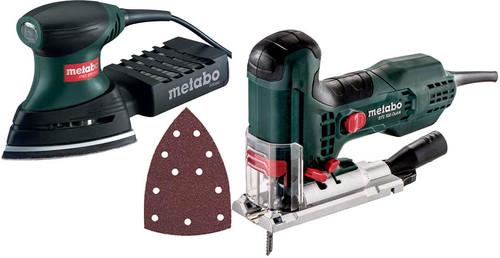 Metabo FMS 200 Intec + STE 100 Quick + Schuurpapierset Main Image
