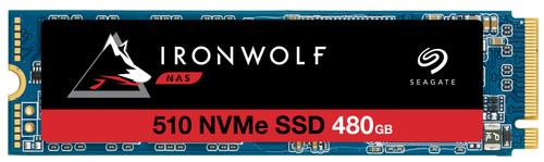 Seagate IronWolf 510 NVMe M.2 NAS SSD 480GB Main Image