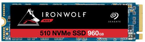 Seagate IronWolf 510 NVMe M.2 NAS SSD 960GB Main Image