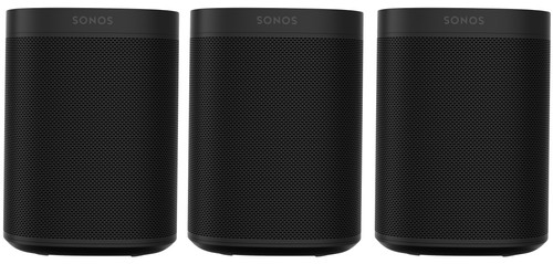 Sonos One 3-pack Black Main Image