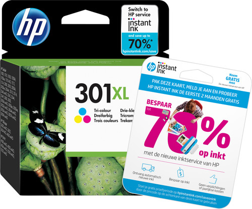 HP 301XL Cartridge Kleur Main Image