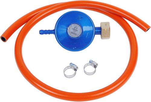 Cadac Gas Pressure Regulator and Hose DIN 30mBar Main Image
