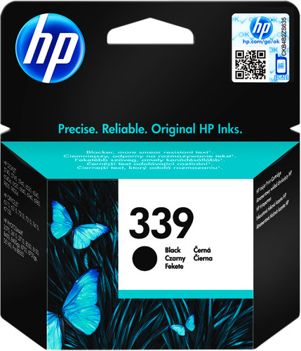 HP 339 Cartridge Zwart Main Image