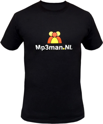 Coolblue T-shirt Mp3man.NL (S) Main Image