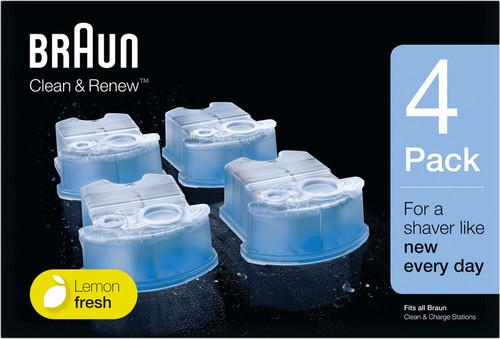 Braun reinigingsvloeistof Clean & Renew cartridges (4 stuks) Main Image