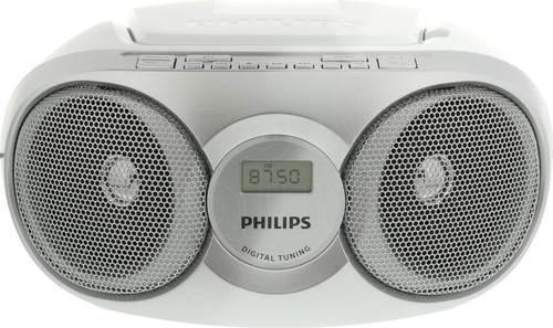 Philips AZ215 Silver Main Image