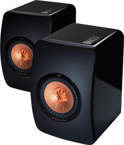 KEF LS50 High Gloss Black (per pair) Main Image
