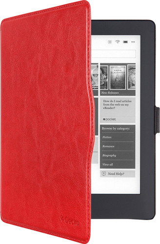 Gecko Covers Kobo Aura H2O (Edition 2) Slimfit Cover Red Main Image