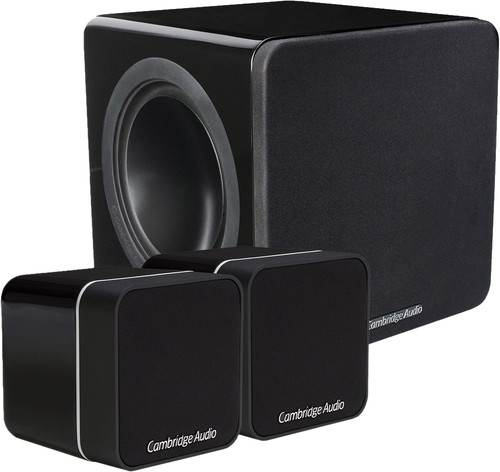 Cambridge Audio Minx 2.1 Set Zwart Main Image