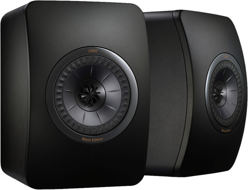 Second Chance KEF LS50 Black Edition (per pair) Main Image