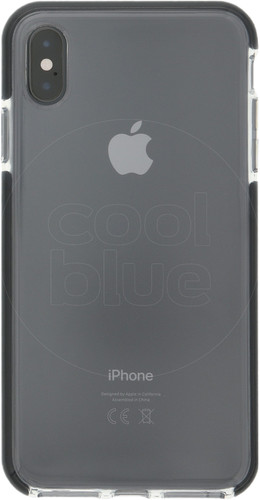 Azuri Flexible Bumper Apple iPhone Xs Max Back Cover Black Main Image