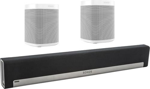 Sonos Playbar 5.0 + One (x2) Wit Main Image