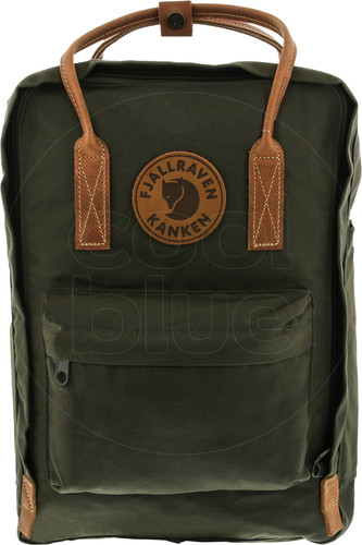 "Fjällräven Kånken No. 2 Laptop 15 ""Deep Forest 18L Main Image"