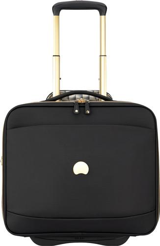Delsey Montrouge Laptop Upright 40cm Black Main Image