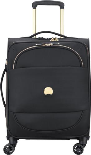 Delsey Montrouge Slim Spinner 55cm Black Main Image