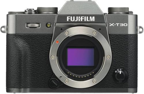 FujiFilm X-T30 Body Donkergrijs Main Image