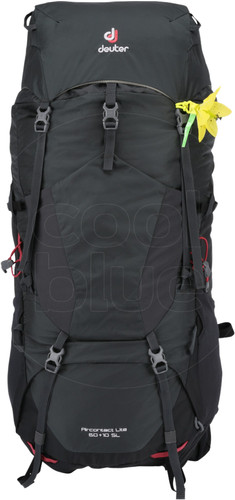 Deuter Aircontact Lite 60L + 10L Graphite/Black - Slim Fit Main Image