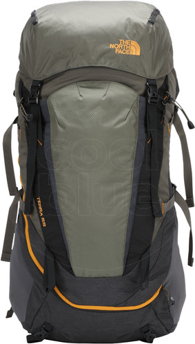 The North Face Terra 55L TNF Dark Gray Heather / New Taupe - Large Fit Main Image