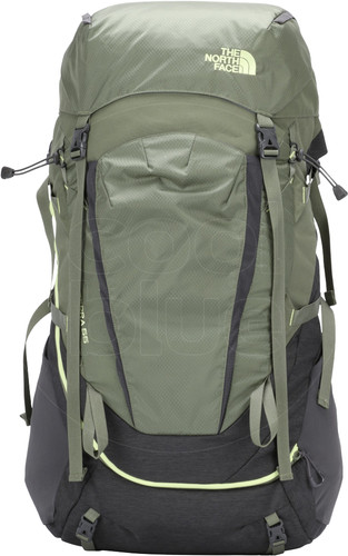The North Face Women's Terra 55L TNF Dark Gray Heather/New Taupe Green Main Image
