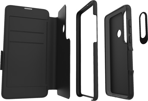 GEAR4 Oxford Huawei P30 Lite Book Case Black Main Image