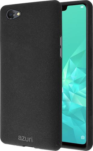 Azuri Flexible Sand OPPO A3 Back Cover Zwart Main Image