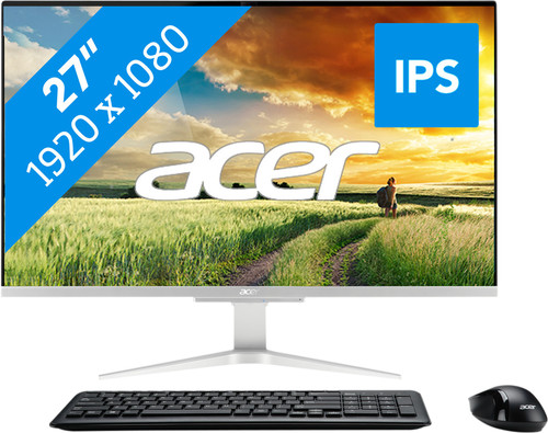Acer Aspire C27-865 I5620 NL All-in-One Main Image