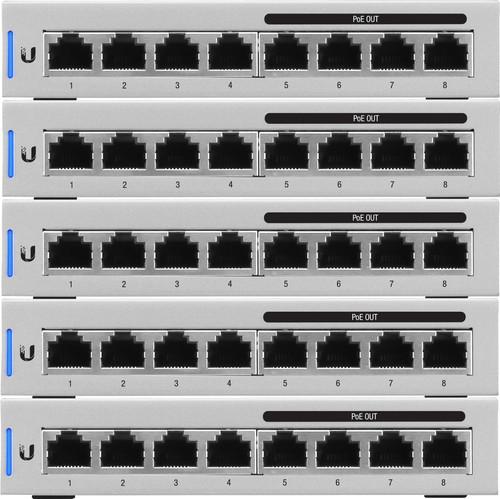 Ubiquiti Unifi switch 8 5-pack Main Image
