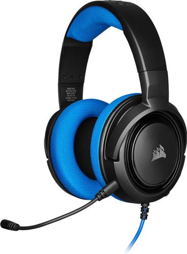 Corsair HS35 Stereo Gaming Headset Blauw Main Image