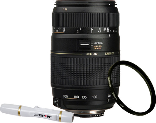 Tamron AF-D 70-300mm f/4.0-5.6 Di LD Nikon FX + UV-Filter 62mm + Elite Lenspen Main Image