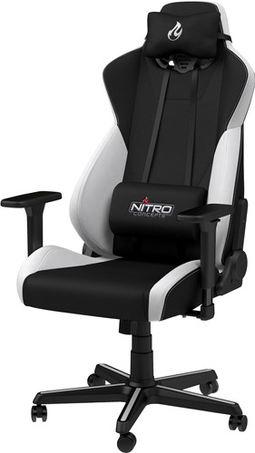 Nitro Concepts S300 EX Gaming Stoel - Radiant White Main Image
