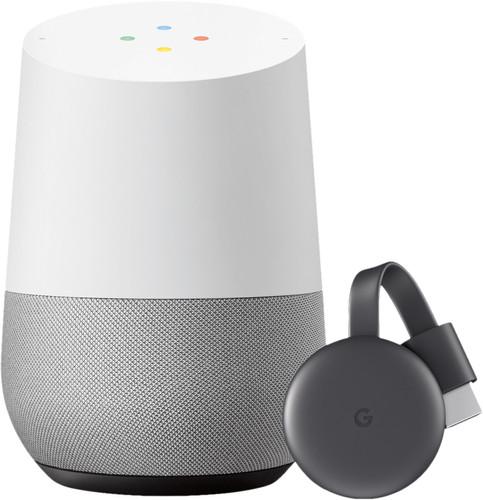 Google Home + Google Chromecast V3 Main Image