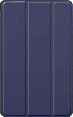 Just in Case Smart Tri-Fold Huawei MediaPad M6 8.4 Inch Book Case Blauw Main Image