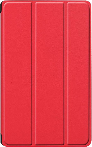 Just in Case Smart Tri-Fold Huawei MediaPad M6 8.4 Inch Book Case Rood Main Image