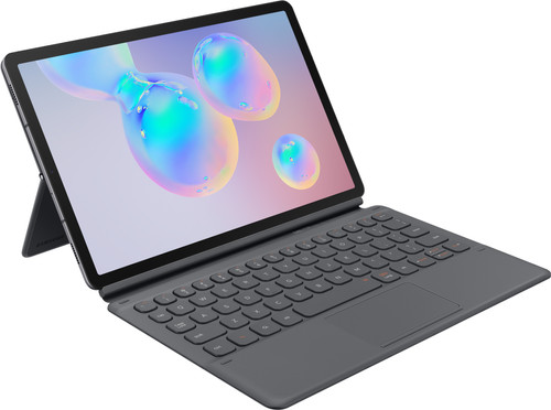 Samsung Galaxy Tab S6 Keyboard Case QWERTY Gray Main Image