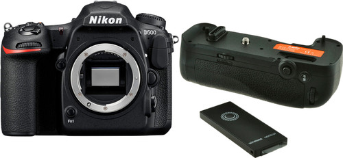 Nikon D500 + Jupio Battery Grip Main Image