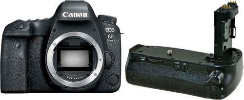 Canon EOS 6D Mark II + Jupio Battery Grip (BG-E21) Main Image