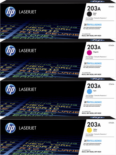 HP 203A Toners Combo Pack Main Image