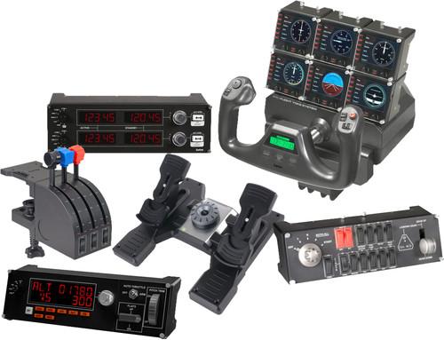 Flight simulatorpakket - Saitek Pro Flight Yoke System Main Image