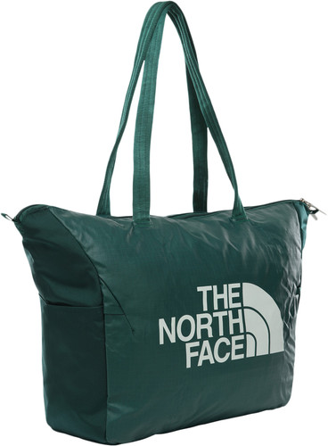The North Face Stratoliner Tote Loganberry Red / Fissure Green Main Image