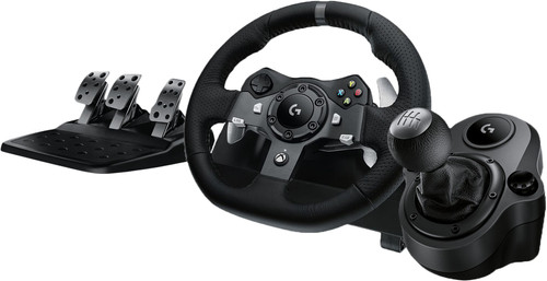 Logitech G920 Driving Force Xbox and PC + Logitech Driving Force Shifter Main Image