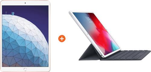 Apple iPad Air (2019) 64 GB Wifi Goud + Smart Keyboard Main Image