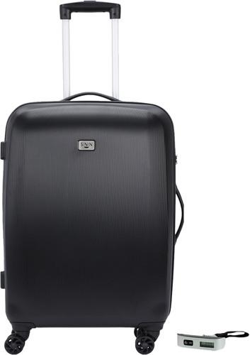 SININ Solid 67cm Black + Veripart Digital Luggage Scale Main Image