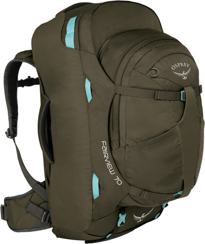 Osprey Fairview 70L Misty Grey - Slim Fit Main Image