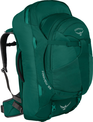 Osprey Fairview 55L Rainforest Green - Slim Fit Main Image