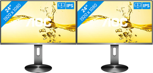 AOC i2490PXQU/BT Duo Set-up Main Image