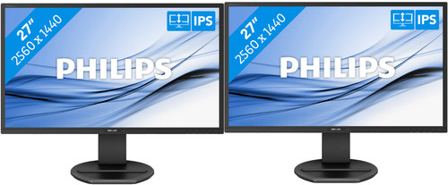 2x Philips 272B8QJEB/00 Main Image