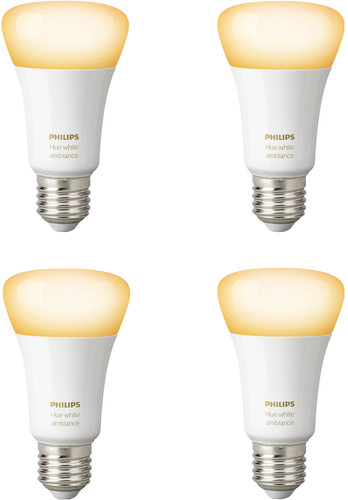 Philips Hue White Ambiance E27 Bluetooth 4-Pack Main Image