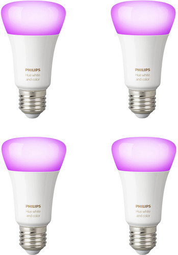 Philips Hue White and Color E27 Bluetooth 4-Pack Main Image